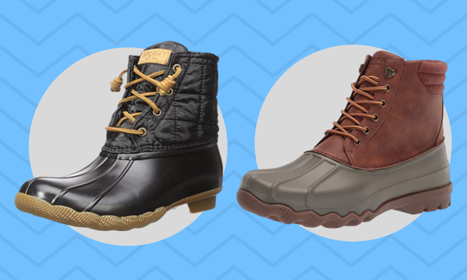 Save up to 60 percent off Sperry boots, today only. (Photo: Amazon)