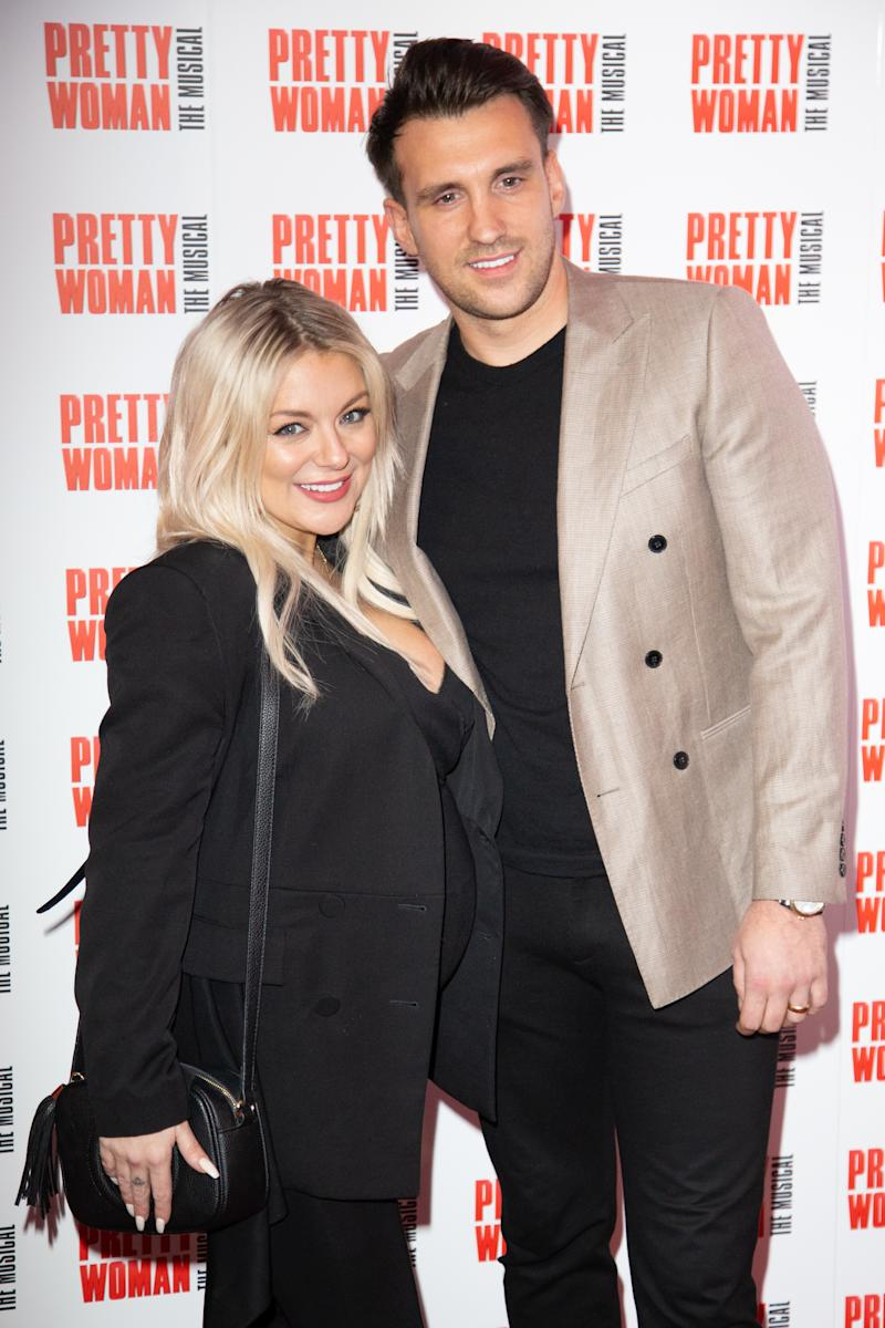 Sheridan Smith and Jamie Horn attend the press night performance of ''Pretty Woman'' at the Piccadilly Theatre on March 2, 2020 in London, England. (Photo by Robin Pope/NurPhoto via Getty Images)