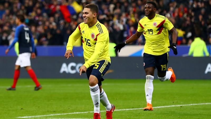 France were taught a lesson in aggression by Colombia, says Deschamps