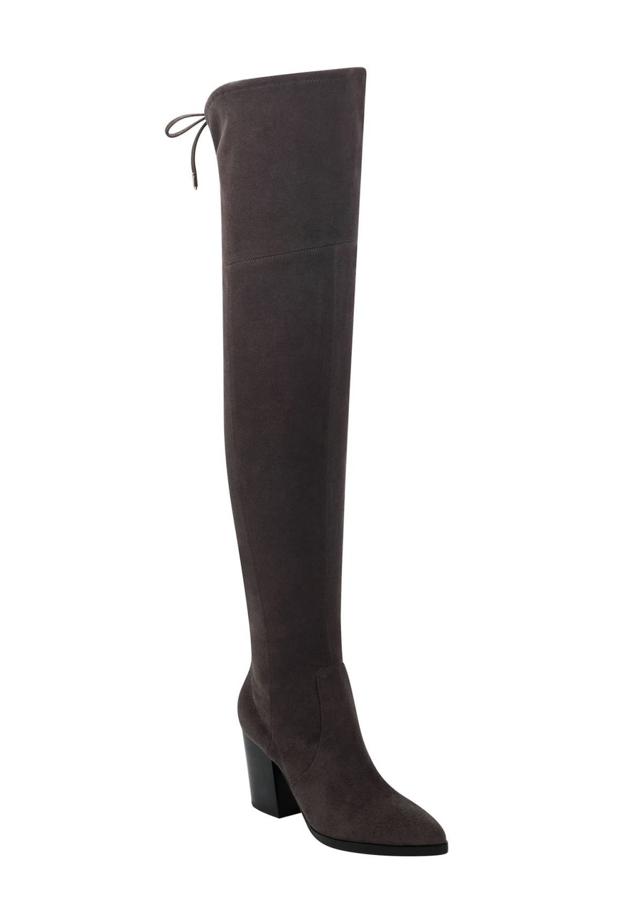 """<h3>Over The Knee</h3><br>This fashion-forward style doesn't have to be crazy expensive or impossible to walk in — there are plenty of comfy, affordable options that you'll wear under skirts and over skinny jeans all season long.<br><br><strong>Marc Fisher LTD</strong> Arletta Knee High Boot, $, available at <a href=""""https://go.skimresources.com/?id=30283X879131&url=https%3A%2F%2Fwww.nordstromrack.com%2Fshop%2Fproduct%2F3148650%2Fmarc-fisher-ltd-arletta-knee-high-boot%3Fcolor%3DGRAFB"""" rel=""""nofollow noopener"""" target=""""_blank"""" data-ylk=""""slk:Nordstrom Rack"""" class=""""link rapid-noclick-resp"""">Nordstrom Rack</a>"""