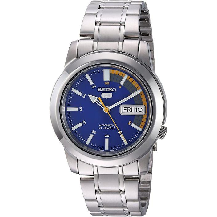 """<p><strong>SEIKO</strong></p><p>amazon.com</p><p><strong>$118.00</strong></p><p><a href=""""https://www.amazon.com/dp/B004MAZN3I?tag=syn-yahoo-20&ascsubtag=%5Bartid%7C10054.g.35351418%5Bsrc%7Cyahoo-us"""" rel=""""nofollow noopener"""" target=""""_blank"""" data-ylk=""""slk:Shop Now"""" class=""""link rapid-noclick-resp"""">Shop Now</a></p><p>A great view: You can basically see the sun setting into the ocean at all times. </p>"""