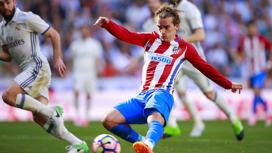 <p>The France international is one of the most talked about players in Europe and could easily be the match-winner against Leicester on Wednesday.</p> <br /><p>His pace on the break, sharp finishing and smart interplay make Griezmann one of the best strikers in Spain and Robert Huth and Yohan Benalouane will have to be at their best to stop the 26-year-old running riot.</p>
