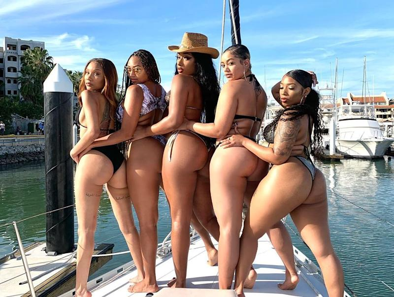Megan Thee Stallion Twerks In Front Of Her Hot Friend To 'Motivate' Her 2