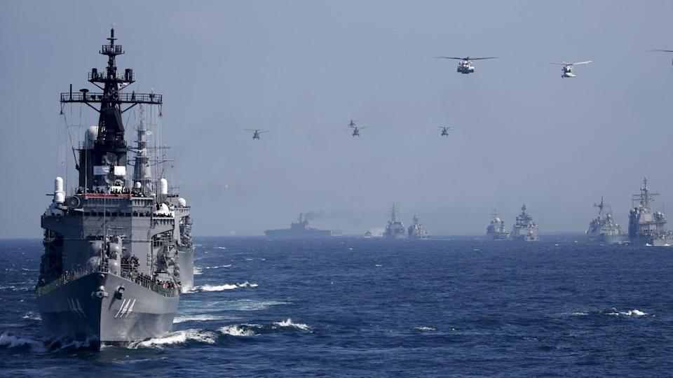 Japan to build new warships in 'message to China' over Diaoyu Islands