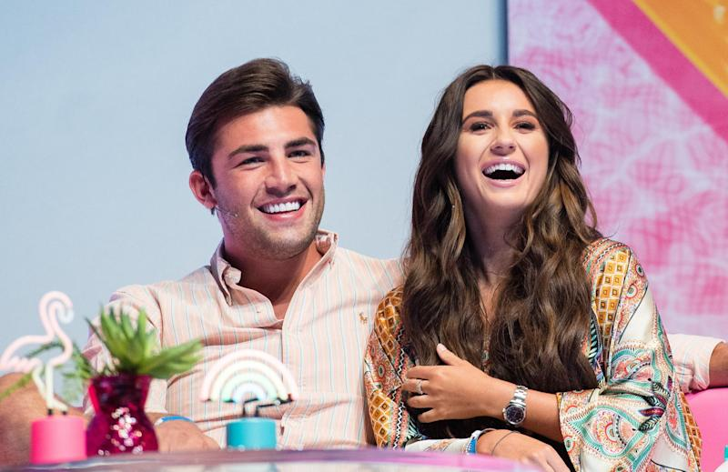 Going strong: Jack Fincham and Dani Dyer (Photo by Samir Hussein/WireImage): WireImage