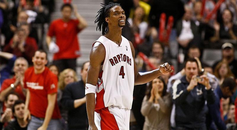 Chris Bosh looks back fondly on his time in Toronto. (Getty)