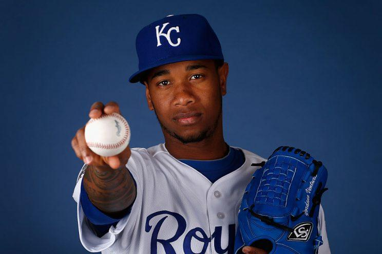 SURPRISE, AZ - FEBRUARY 25: Pitcher Yordano Ventura #30 of the Kansas City Royals poses for a portrait during spring training photo day at Surprise Stadium on February 25, 2016 in Surprise, Arizona. (Photo by Christian Petersen/Getty Images)