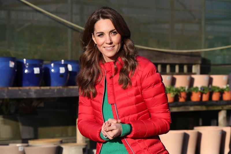 Kate Middleton in a casual look