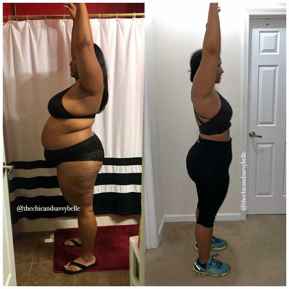 """<p>The weight gain was gradual and over time. """"I would start a new weight-loss journey every Sunday, by Wednesday I would fall back into bad habits,"""" she said. One time, she lost 30 pounds but fell off track after 16 weeks and gained 52 back. """"This was my life for years. Diet after diet, I would lose then regain more than I lost. I lacked dedication, patience, and consistency every time,"""" she said. </p> <p>Cierra's weight-loss journey was inspired by her son. In November 2017, when she was at her highest recorded weight of 311, she was having trouble doing any activity with him. """"It forced me to see that my weight was now affecting my lifestyle and quality time with my son. It was the pivotal moment where I said enough was enough.""""</p>"""