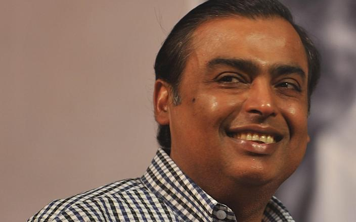 Mukesh Ambani - Getty