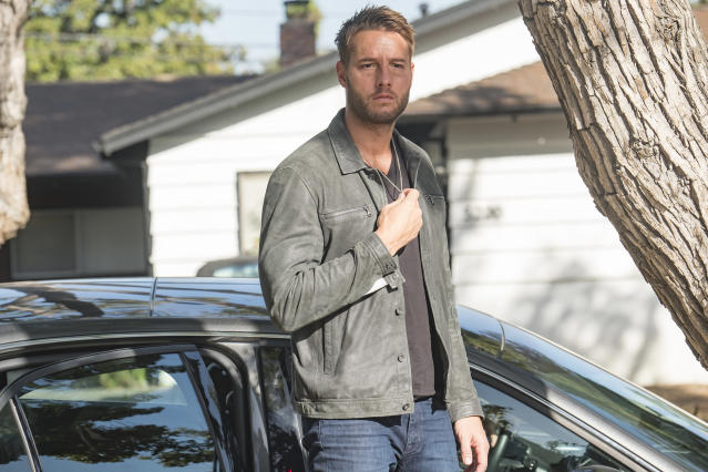 <p>Justin Hartley as Kevin in NBC's <i>This Is Us</i>.<br> (Photo: Ron Batzdorff/NBC) </p>