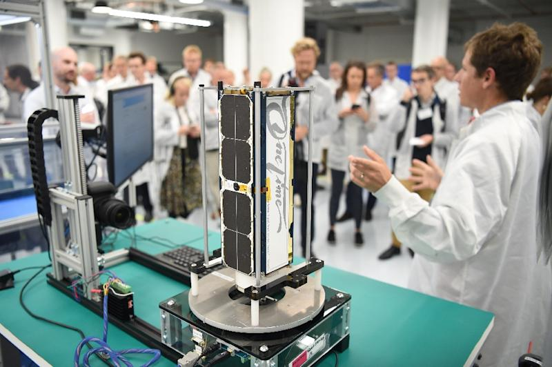 Founded in San Francisco in 2010 by three former NASA scientists, Planet is a leader in small satellites, which are easier to produce and replace (AFP Photo/Josh EDELSON)