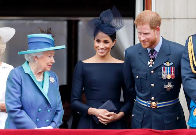 Harry and Meghan had accepted an invitation to Balmoral this summer. (Getty Images)
