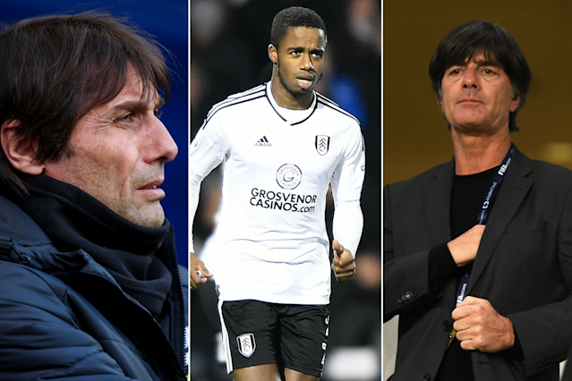 Transfer gossip: Antonio Conte, Ryan Sessegnon and Joachim Low are stealing the headlines on Thursday