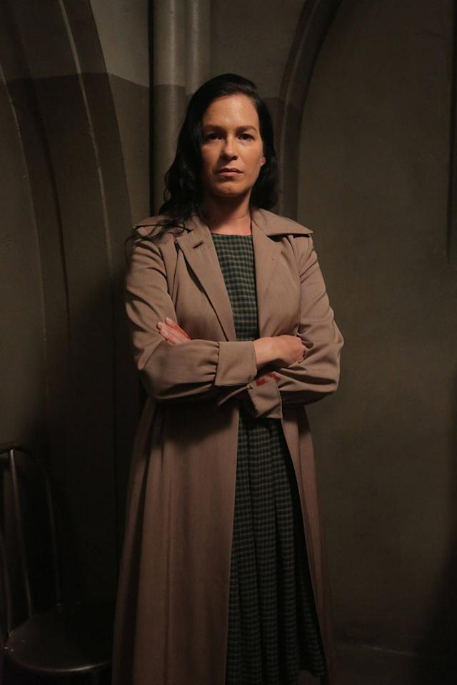 "Franka Potente as Kassie in the ""American Horror Story: Asylum"" episode, ""I Am Anne Frank, Pt. 1."""