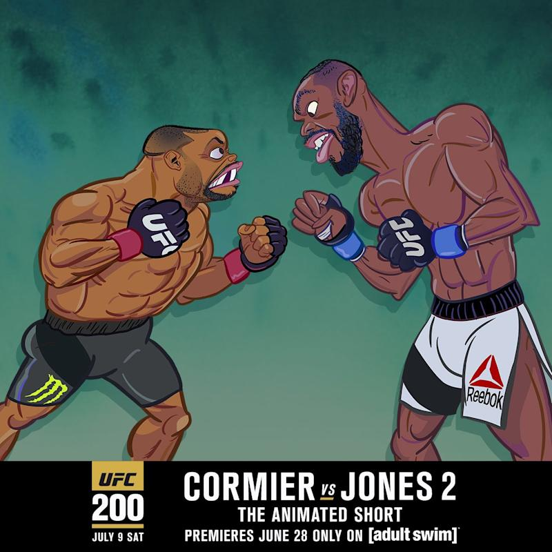 7c1897d70fa14d UFC 200  Adult Swim rolls out new Jones-Cormier commercial