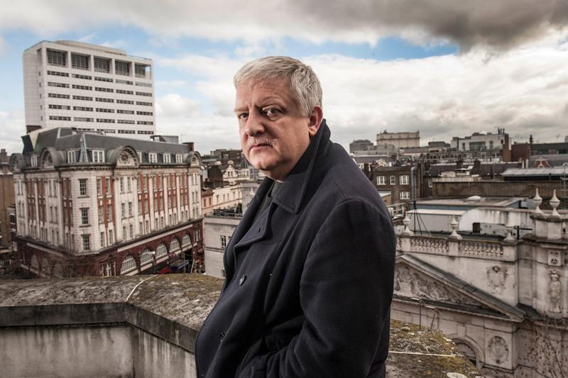 Three generations: Simon Russell Beale stars in the National Theatre's Lehman Trilogy: Daniel Hambury