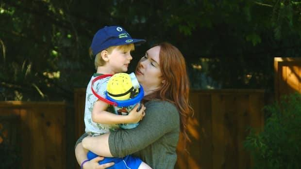 Ashley Catroppa is facing challenges finding summer child care for her five-year-old son with autism.   (CBC - image credit)
