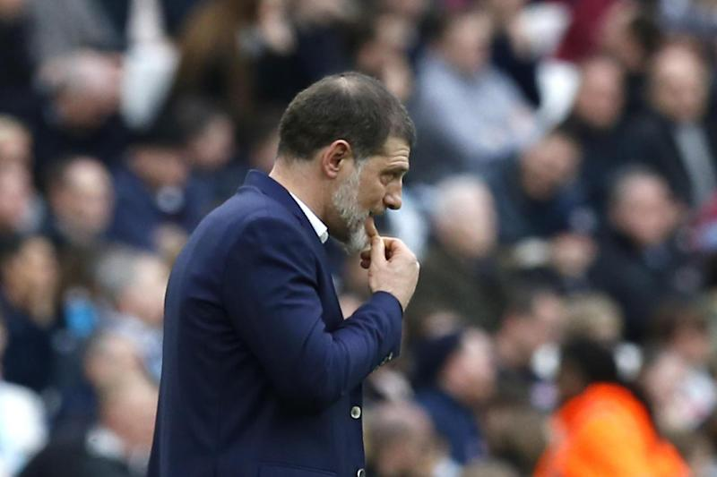 Under pressure: West Ham have lost three Premier League matches on the bounce: AFP/Getty Images