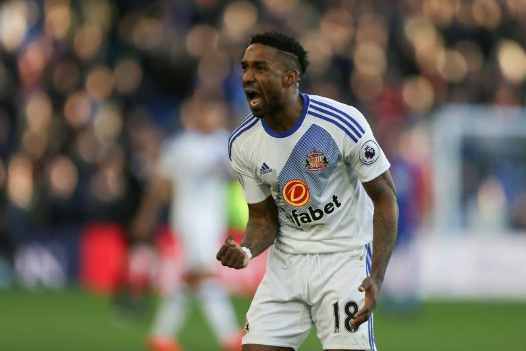 Sunderland's English striker Jermain Defoe  had scored 14 league goals this season for side ncluding the winner in the reverse fixture at the Stadium of Light back in December