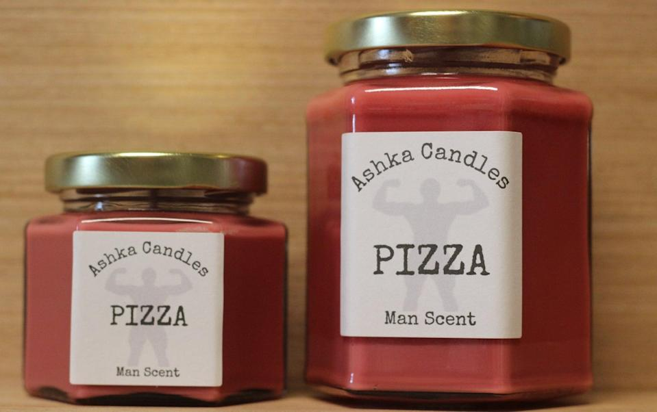 <p>Take their love for pizza to the next level with this <span>Ashka Candles Pizza Scented Candle</span> ($13). Their home will smell like their favorite dish all the time.</p>