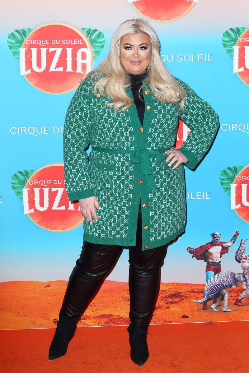 Gemma Collins arrives at the Cirque Du Soleil Luzia Premiere at The Royal Albert Hall London- PHOTOGRAPH BY Jamy / Barcroft Media (Photo credit should read Jamy / Barcroft Media via Getty Images)