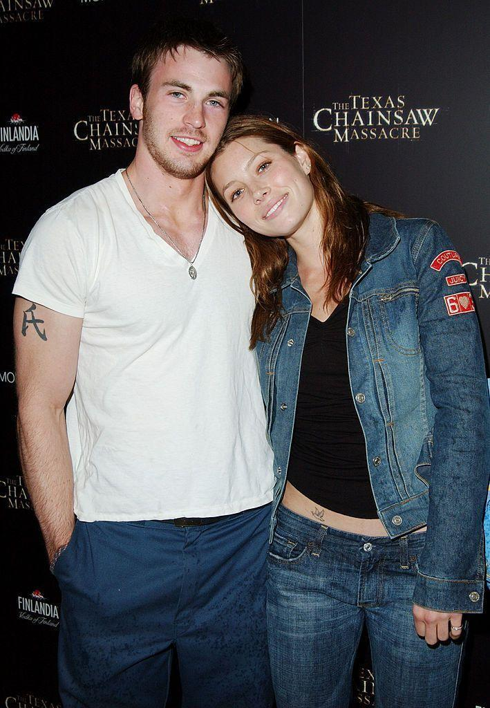 """<p>Chris and Jessica started dating in 2001 when they were both up and coming actors, with Jessica even telling <a href=""""https://www.cosmopolitan.com/entertainment/celebs/news/a1645/jessica-biel-interview/"""" rel=""""nofollow noopener"""" target=""""_blank"""" data-ylk=""""slk:Cosmopolitan"""" class=""""link rapid-noclick-resp"""">Cosmopolitan</a> at the time that they had talked about tying the knot. """"We always talk about it. We both want to be married, and we both want to have children. But we're not engaged, so the rumours are false…so far.</p><p>The pair split in 2006 after five years together. </p>"""