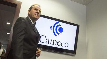File photo: Cameco CEO Tim Gitzel speaks with the media after the company's annual general meeting in Saskatoon