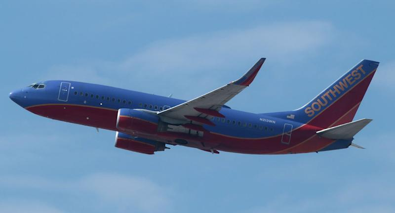 Someone left a human heart on a Southwest Airlines flight