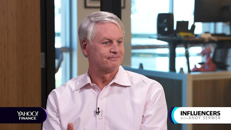 ServiceNow CEO John Donahoe appears on Influencers with Andy Serwer.