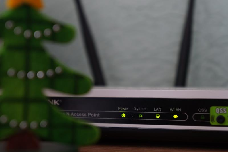 Place your router on a shelf or table and keep it away from other wireless devices for a faster connection. (Misha Feshchak/Unsplash)