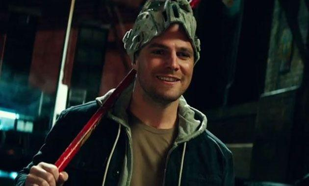 Stephen Amell as Casey Jones. Photo: Paramount Pictures