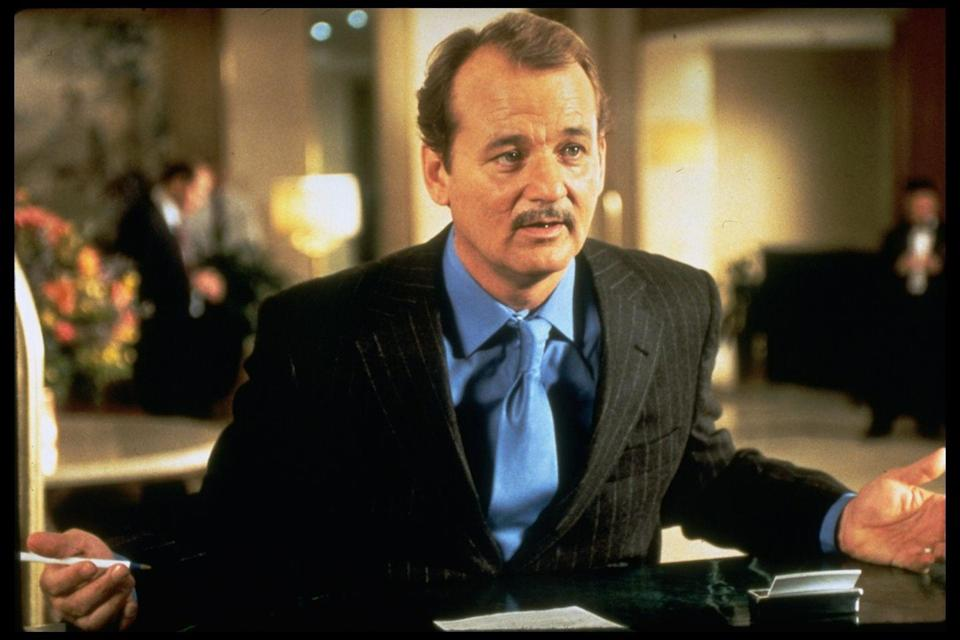 <p>The famous actor used his mustache in a variety of contexts, most notably in movies like <em>Rushmore</em> for the character of Herman Blume.</p>