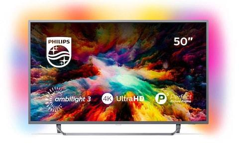 Philips 50PUS7303 50 Inch 4K Ultra HD Android Smart TV with HDR Plus and Ambilight