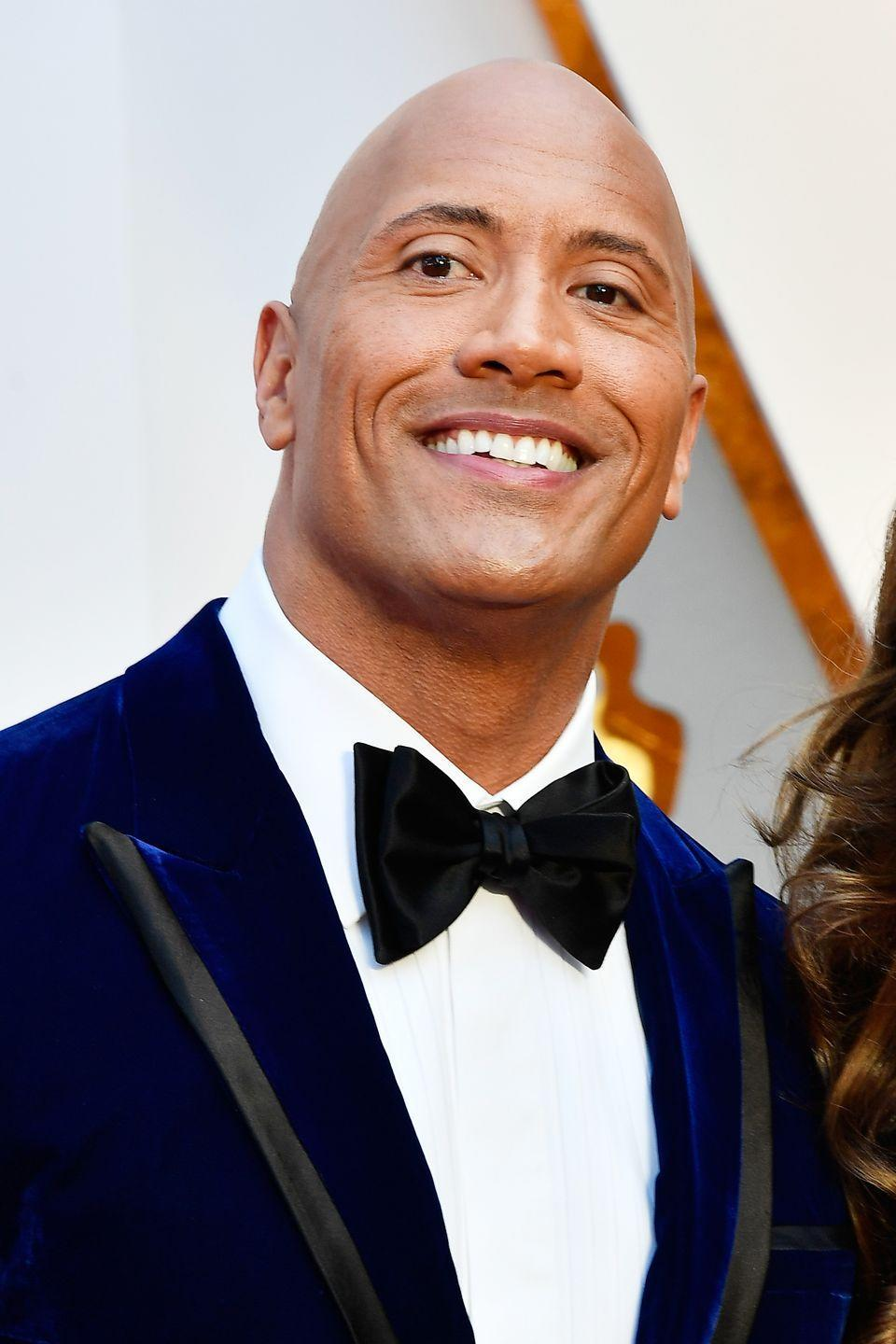 <p>We can give ol' Dwayne a break, this was his first feature film and it primed him for his current role as the king of Hollywood.</p>