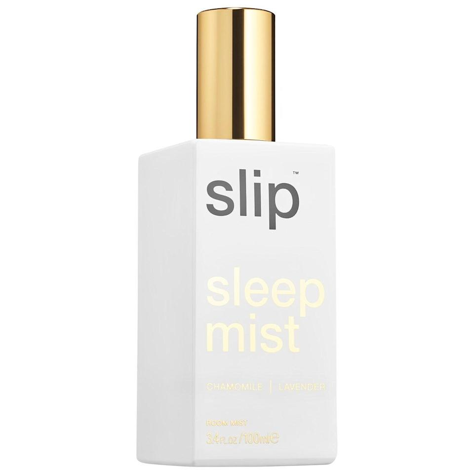 """<h2>Slip Sleep Mist<br></h2><br>""""Many Cancers have fluctuating sleep cycles since their sign is ruled by the moon,"""" Watt explains. """"The lunar cycle can sometimes affect their ability to wind down and fall asleep, especially around the Full Moon. Help your buddy get the rest they need with this self-care kit that aids with drifting off to dreamland.""""<br><br><strong>Slip</strong> Sleep Mist, $, available at <a href=""""https://go.skimresources.com/?id=30283X879131&url=https%3A%2F%2Fwww.sephora.com%2Fproduct%2Fsleep-mist-P446864"""" rel=""""nofollow noopener"""" target=""""_blank"""" data-ylk=""""slk:Sephora"""" class=""""link rapid-noclick-resp"""">Sephora</a>"""