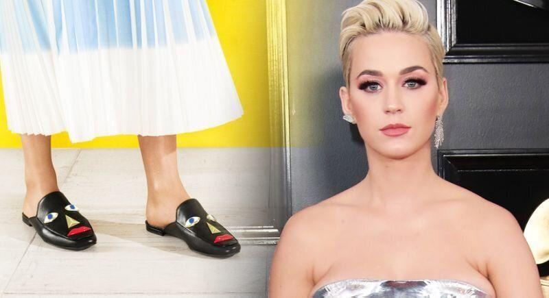 Katy Perry faced controversy for designed so-called 'blackface' shoes. [Photo: Katy Perry Collection]