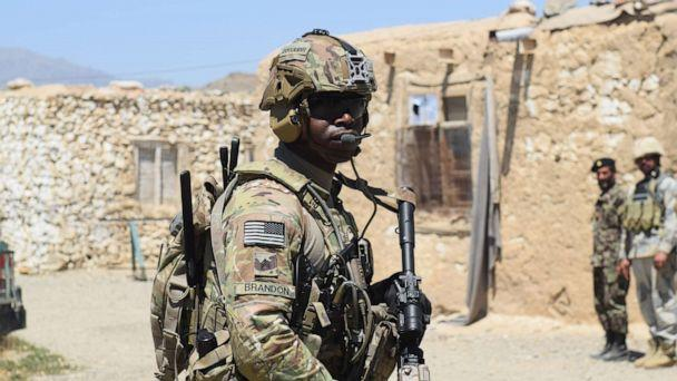 PHOTO: Advisors from the 2nd Security Force Assistance Brigade conducting advising during their deployment to Afghanistan, June 13, 2019. (Maj. Jonathan Camire/US Army)