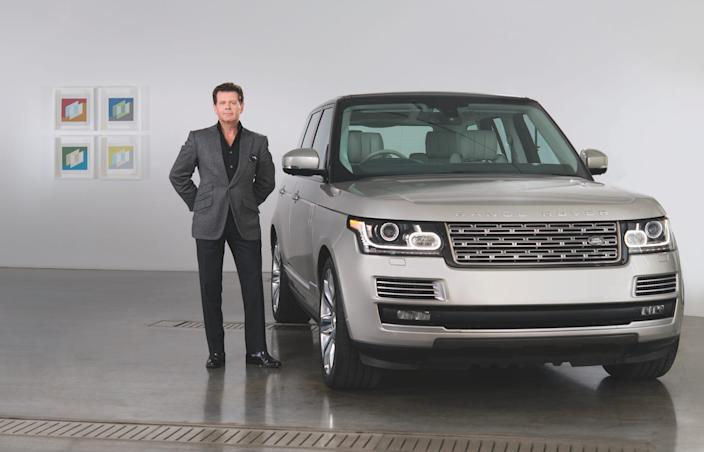 Gerry McGovern is the Chief Creative Office of Land Rover and a trained car designer.
