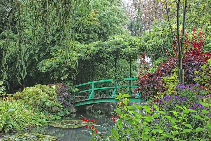 <p>While not exactly the most secret of gardens anymore, Claude Monet's gardens still manage to whisk visitors away into a vivid, imaginative world of their own, deeming it worthy of a spot on this list. Monet had two gardens in Giverny: the Clos Normand and the Water Garden, the latter of which is shown here.</p><p>Monet's gardens are as artistically designed as his best paintings, accounting for color and volume, as well as mixing the daintiest flowers with his most rare varieties. His water garden was part of property he purchased 10 years after moving to Giverny and had the pond and Japanese water bridge built. A visit to these gardens are an absolute must for anyone traveling nearby. </p>