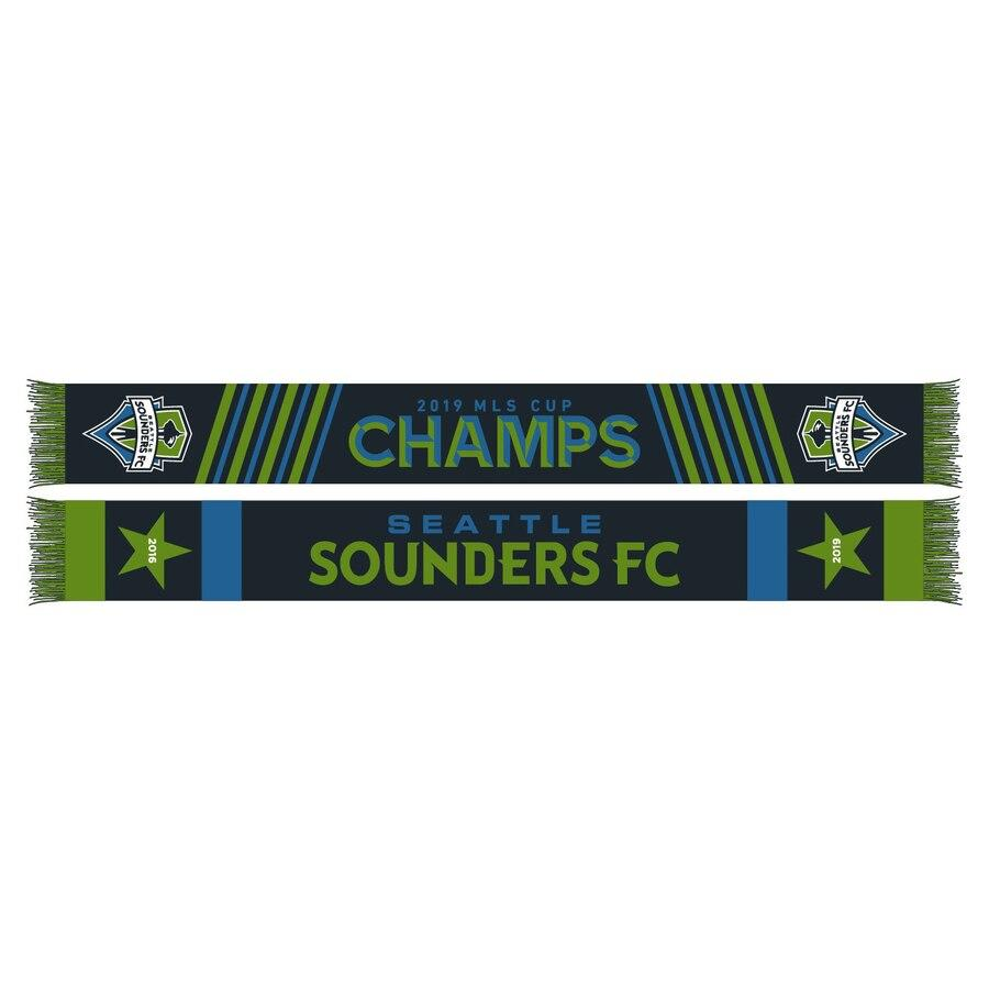 Sounders FC 2019 MLS Cup Champions 2 Star Scarf