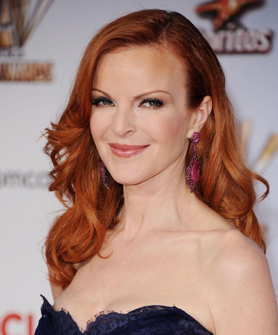 """<p>In 2018, the <em>Jane the Novela </em>star revealed her struggle with <a href=""""https://www.prevention.com/health/a23488307/marcia-cross-anal-cancer-symptoms/"""" rel=""""nofollow noopener"""" target=""""_blank"""" data-ylk=""""slk:anal cancer"""" class=""""link rapid-noclick-resp"""">anal cancer</a> on <a href=""""https://www.instagram.com/p/BnwdX0OBl4b/"""" rel=""""nofollow noopener"""" target=""""_blank"""" data-ylk=""""slk:Instagram"""" class=""""link rapid-noclick-resp"""">Instagram</a>, writing """"So grateful and happy to be alive but sad that my hair fell out and is about 1 inch long now and looks cra cra. Anyone else have #hairloss due to <a href=""""https://www.instagram.com/explore/tags/cancer/"""" rel=""""nofollow noopener"""" target=""""_blank"""" data-ylk=""""slk:#cancer"""" class=""""link rapid-noclick-resp"""">#cancer</a>? Talk to me. I feel you. Xxoo m❤️❤️❤️."""" Cross hopes that her story will help address the stigma around anal cancer and encourage people to not to be embarrassed about talking to their doctors if something isn't right. </p>"""