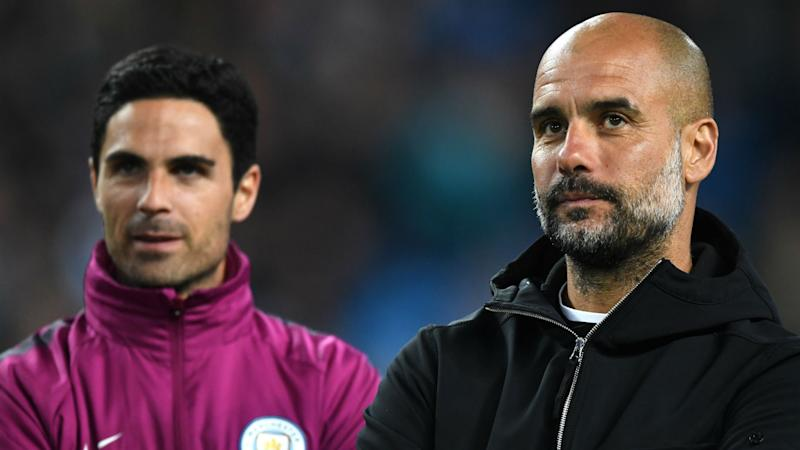 'We have spoken a few times' - Arsenal manager Arteta still regularly seeks advice from Man City boss Guardiola