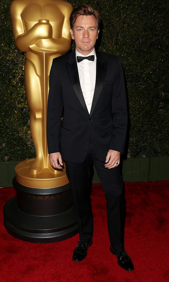 HOLLYWOOD, CA - DECEMBER 01: Actor Ewan McGregor attends the Academy Of Motion Picture Arts And Sciences' 4th Annual Governors Awards at Hollywood and Highland on December 1, 2012 in Hollywood, California.  (Photo by Frederick M. Brown/Getty Images)