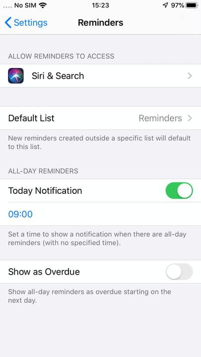 how to use reminders in ios 13 settings 2