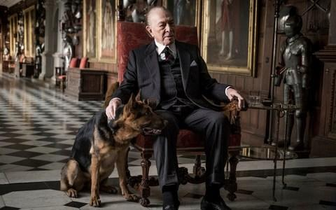 Christopher Plummer playing J. Paul Getty in a scene from the 2017 film adaptation of All the Money in the World - Credit: Giles Keyte/Sony Pictures