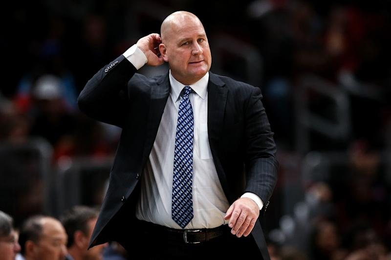 Chicago Bulls head coach Jim Boylen defended his coaching style in unique fashion. (Photo by Dylan Buell/Getty Images)