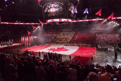 Opening Ceremony of the 2017 Canada Games (CNW Group/Canada Games Council)