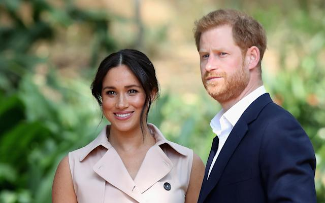 Harry and Meghan are the subjects of several royal biographies this year. (Getty Images)