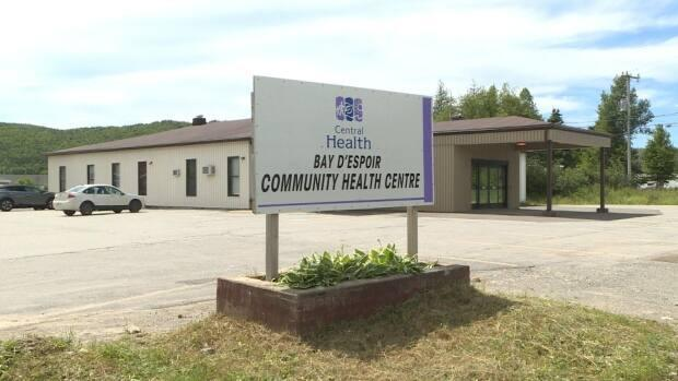 Emergency services are once again being diverted from the Bay d'Espoir Community Health Centre in St. Alban's due to a lack of physicians. The same thing happened several times in 2020.  (Garrett Barry/CBC - image credit)